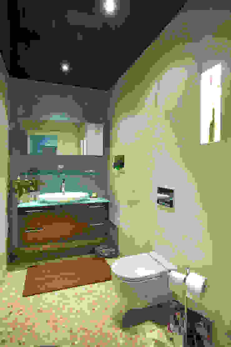 Gäste WC by Torsten Müller Moderne Badezimmer von Design by Torsten Müller Modern