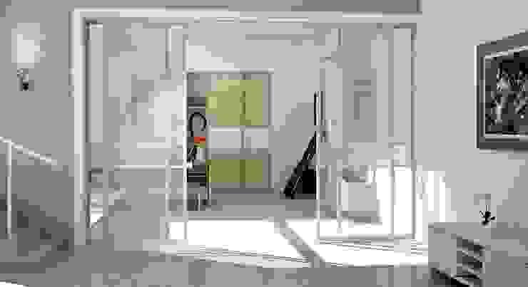 Raumteiler aus Glas: modern  von homify,Modern