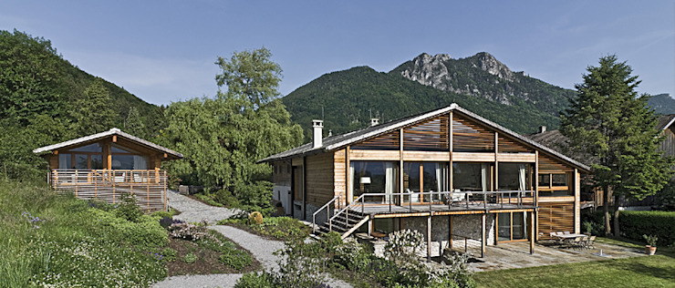 Maisons originales par GALLIST ARCHITEKTEN GmbH Éclectique