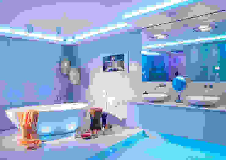 Design by Torsten Müller Eclectic style bathrooms