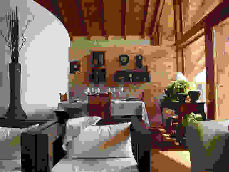 Flur, Diele & Treppenhaus von Manuel Monroy Pagnon, arquitecto