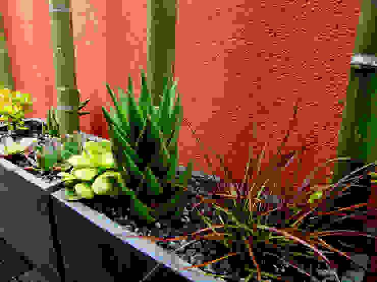 Barcelona-Meridiana Jardines de estilo moderno de Simbiosi Estudi Moderno
