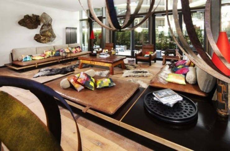 Hoteles de estilo ecléctico de Conni Kotte Interior Ecléctico