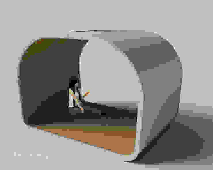 Oval Space para Gandía Blasco:  de estilo industrial de  Diseñadora de Interiores, Decoradora y Home Stager, Industrial