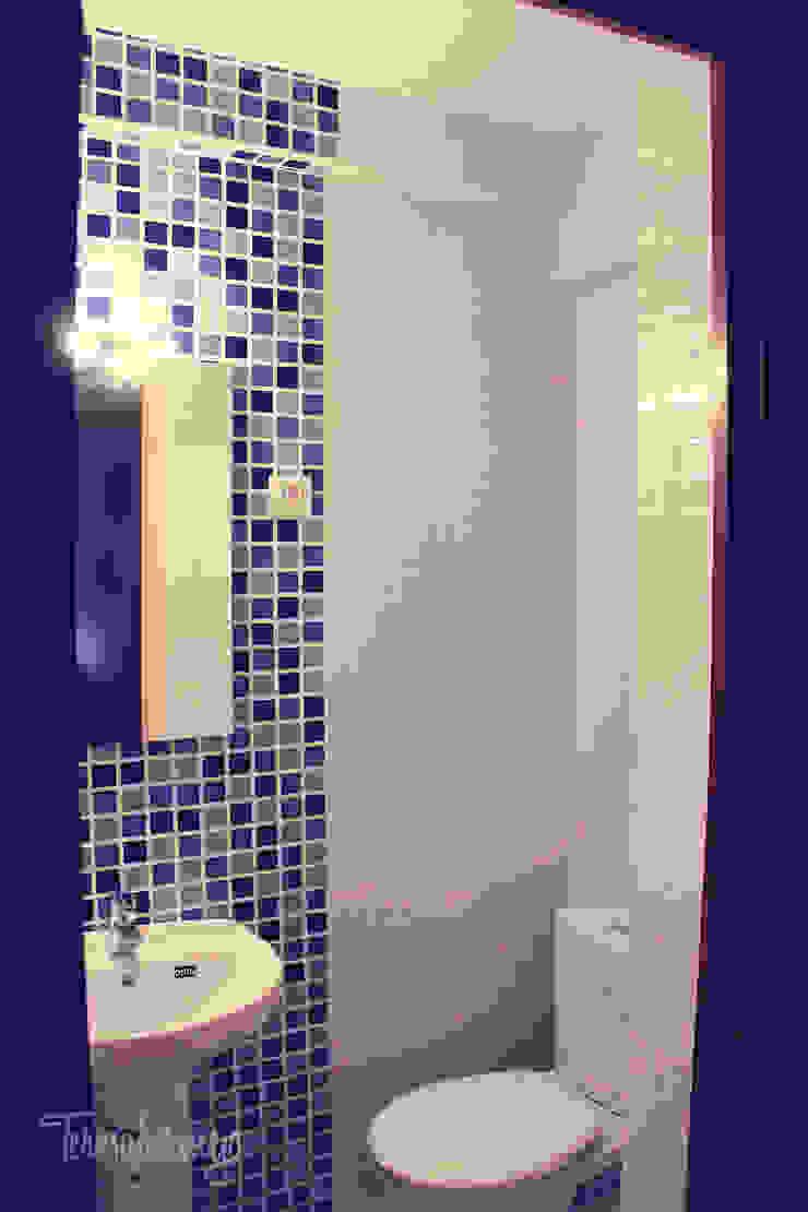 Modern bathroom by Diseñadora de Interiores, Decoradora y Home Stager Modern