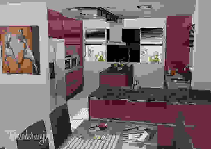 La cocina de Lino Cocinas de estilo ecléctico de Diseñadora de Interiores, Decoradora y Home Stager Ecléctico