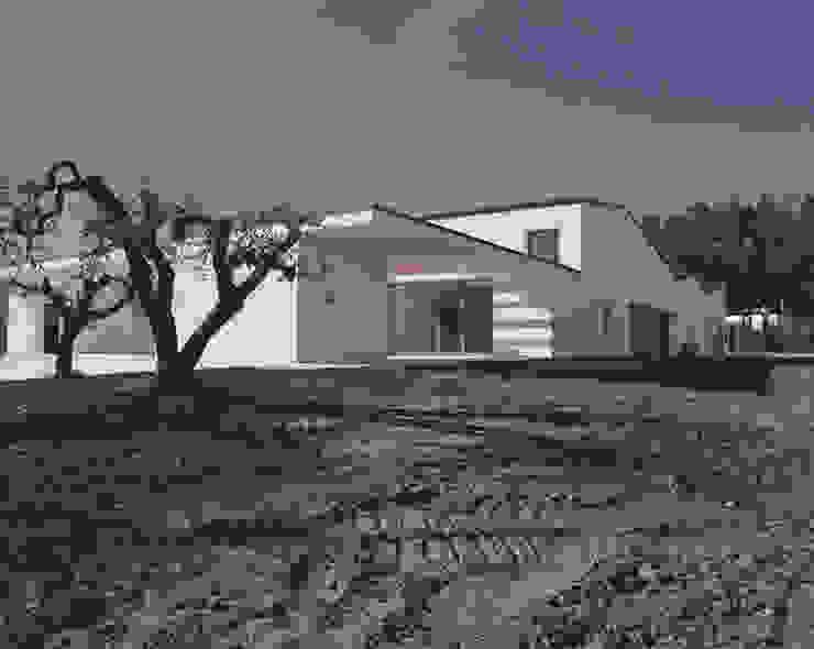 Minimalistische Häuser von ONSITESTUDIO Minimalistisch
