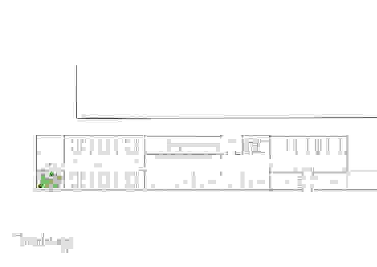 Biblioteca Barrio de las Flores Oficinas y tiendas de estilo ecléctico de Diseñadora de Interiores, Decoradora y Home Stager Ecléctico