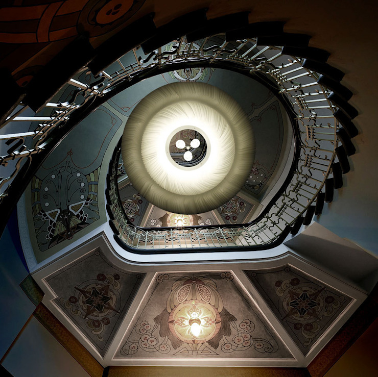 limpalux Vestíbulos, pasillos y escalerasIluminación