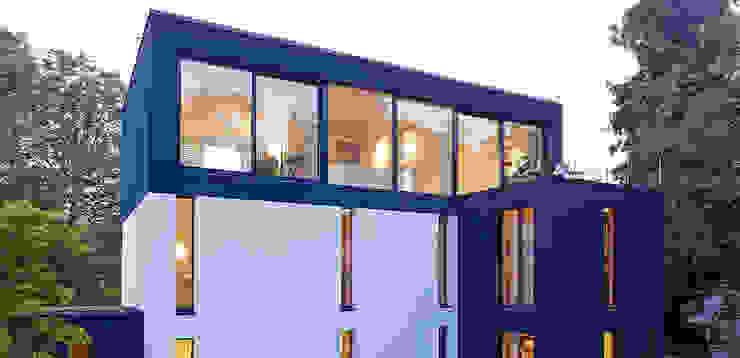 Terrasse Moderne Häuser von A-Z Architekten Modern