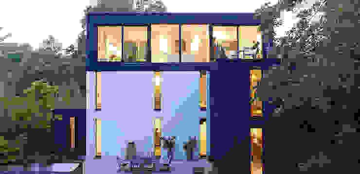 Gartenansicht Moderne Häuser von A-Z Architekten Modern