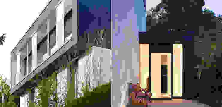Eingangssituation Moderne Häuser von A-Z Architekten Modern