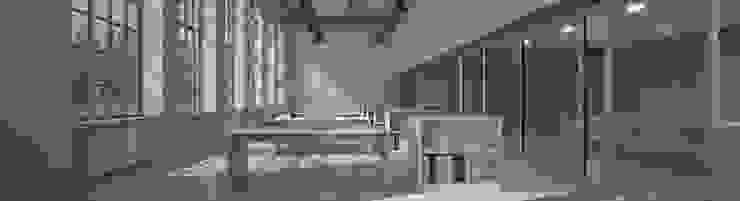 Estudios y despachos modernos de Möbelmanufaktur Grube Carl GmbH Moderno