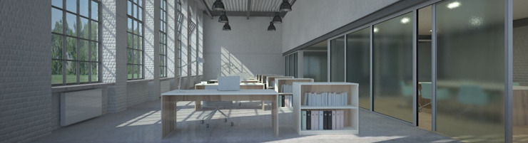 Oficinas de estilo moderno de Möbelmanufaktur Grube Carl GmbH Moderno