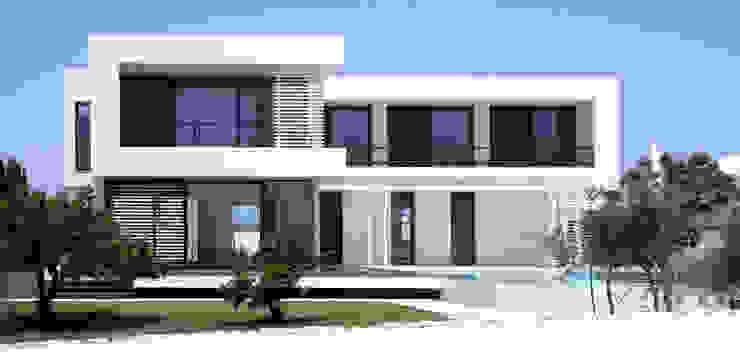 Maisons modernes par dom arquitectura Moderne