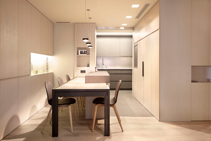 Coblonal Arquitectura Modern dining room