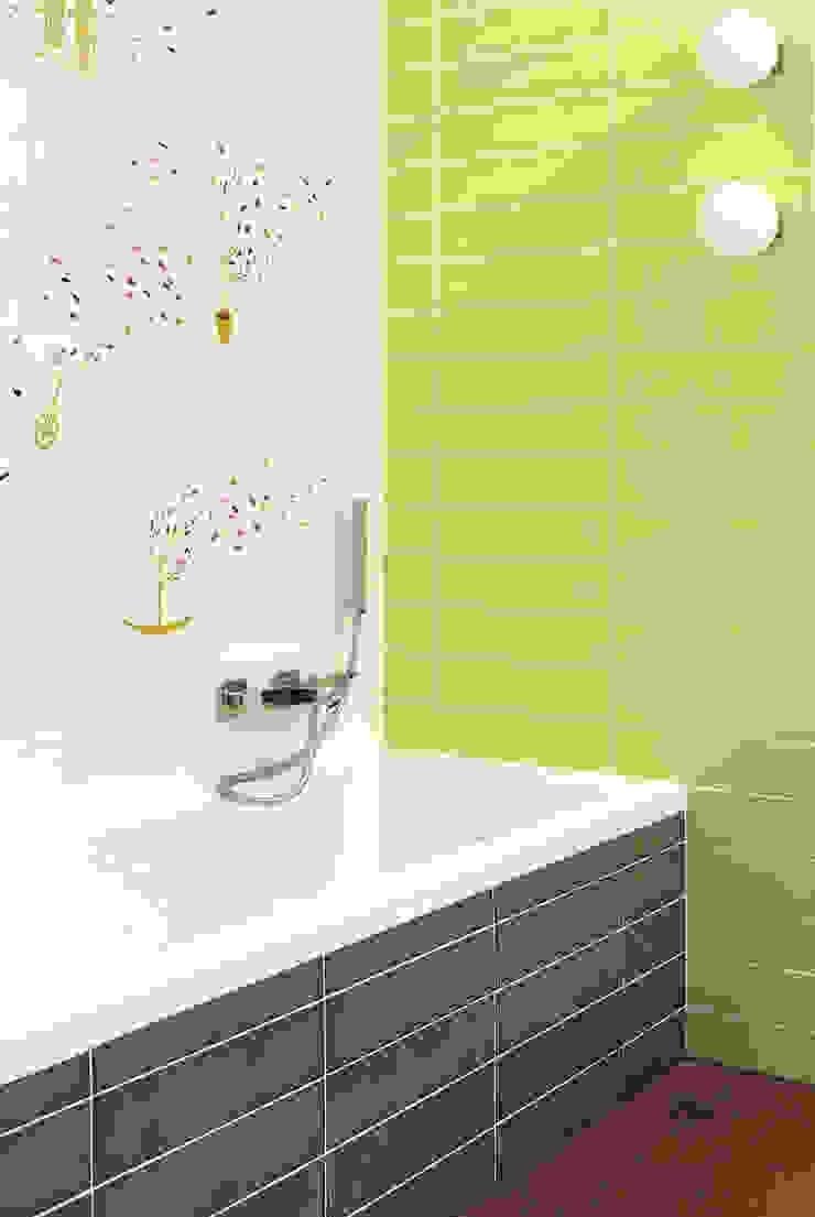 Bathroom Baños industriales de CAFElab studio Industrial