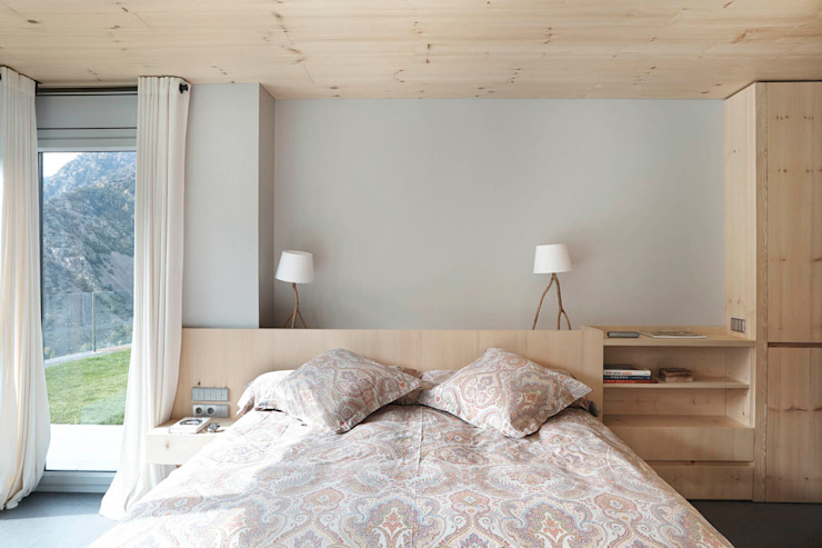 Scandinavian style bedroom by Coblonal Arquitectura Scandinavian