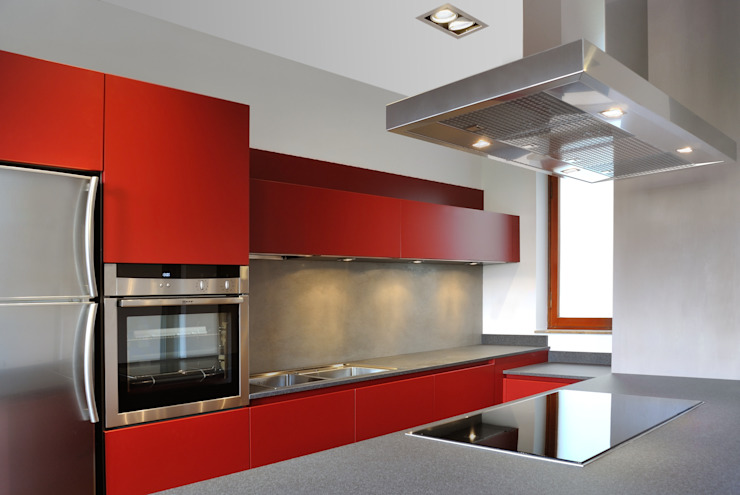 Cucina Cucina in stile industriale di CAFElab studio Industrial