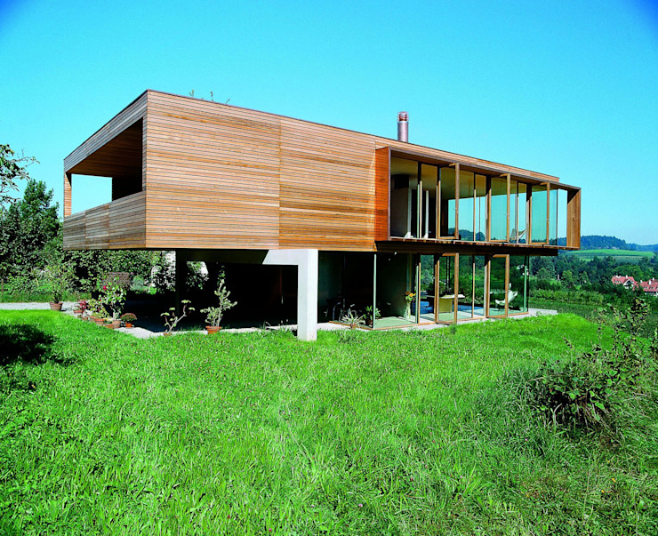 k-m architektur Livings de estilo moderno