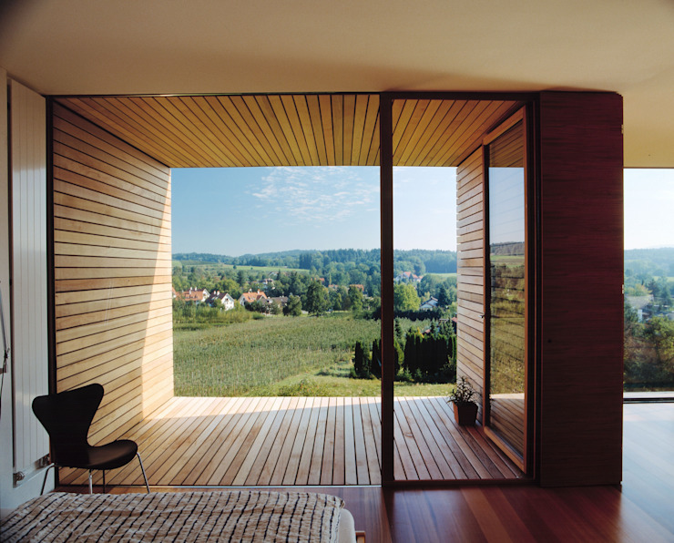 Modern living room by k-m architektur Modern