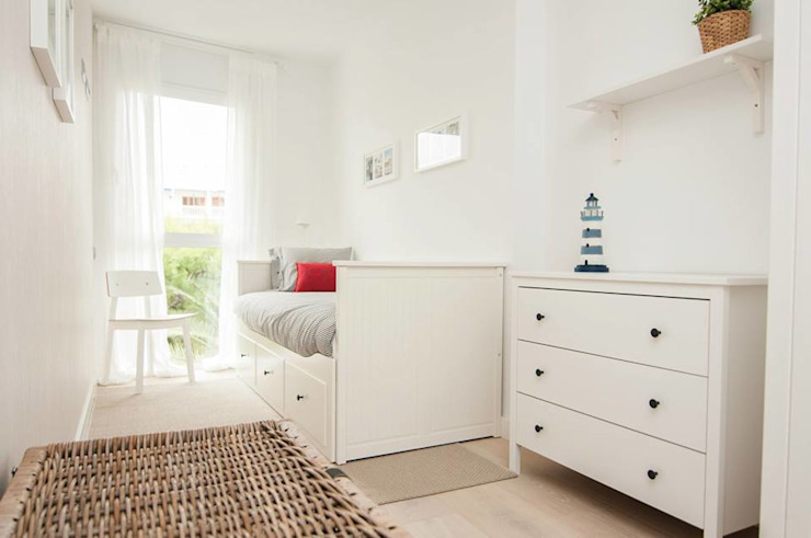 Dormitorio Dormitorios de estilo mediterráneo de homify Mediterráneo