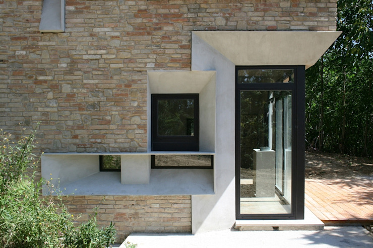 Puertas y ventanas de estilo industrial de Fabio Barilari Architetti Industrial