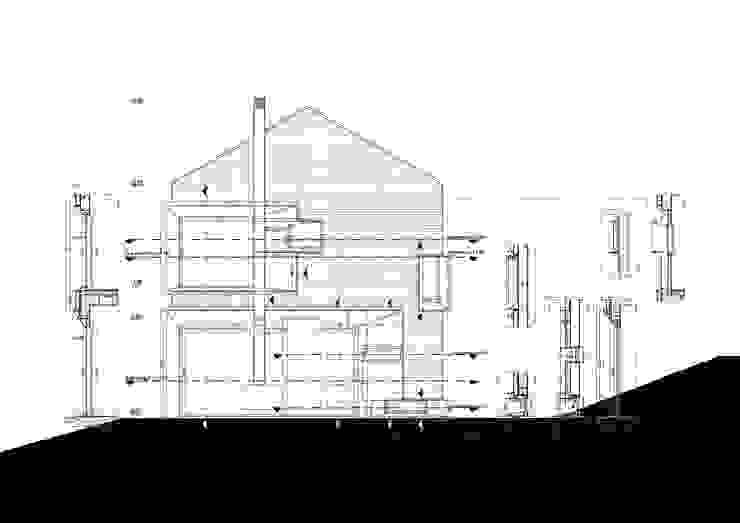 von Fabio Barilari Architetti Landhaus
