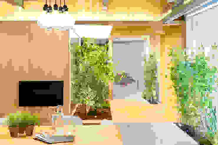 Bajo comercial convertido en loft (Terrassa) Pasillos, vestíbulos y escaleras de estilo rústico de Egue y Seta Rústico