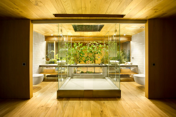 Egue y Seta Rustic style bathrooms