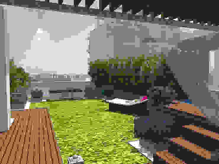 Akdeniz Balkon, Veranda & Teras Taller de Paisatge Akdeniz