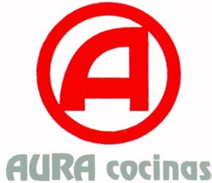 Logotipo de Aura Cocinas Moderno