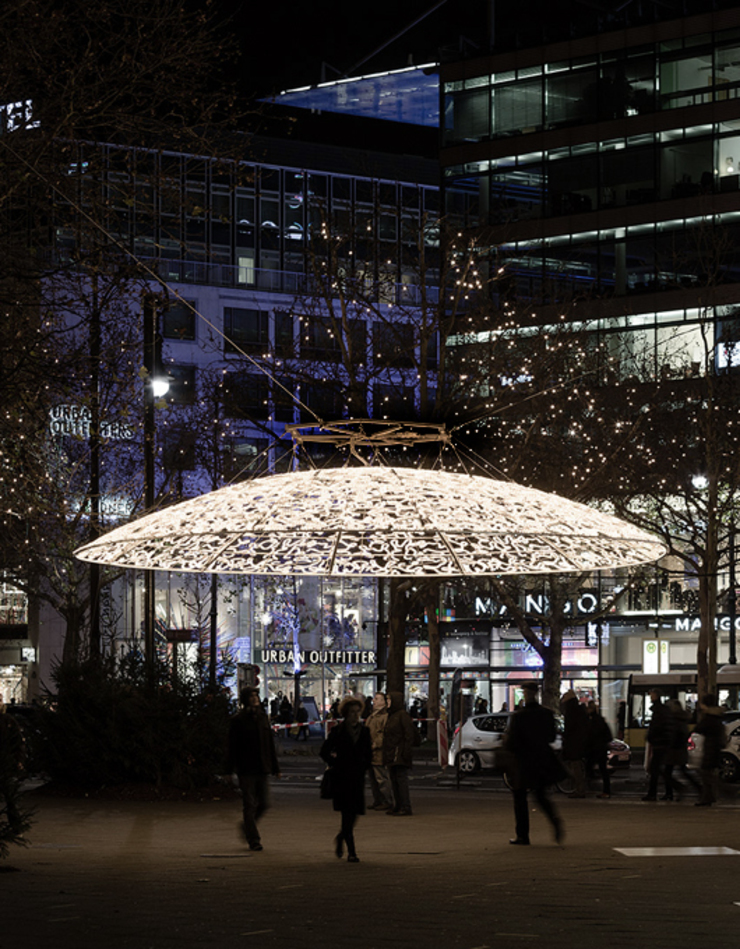 Christmas lights Berlin Casas de Brut Deluxe Architecture + Design