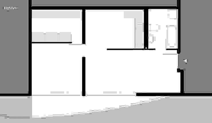 Umbau Dachgeschosswohnung, München Casas de Brut Deluxe Architecture + Design