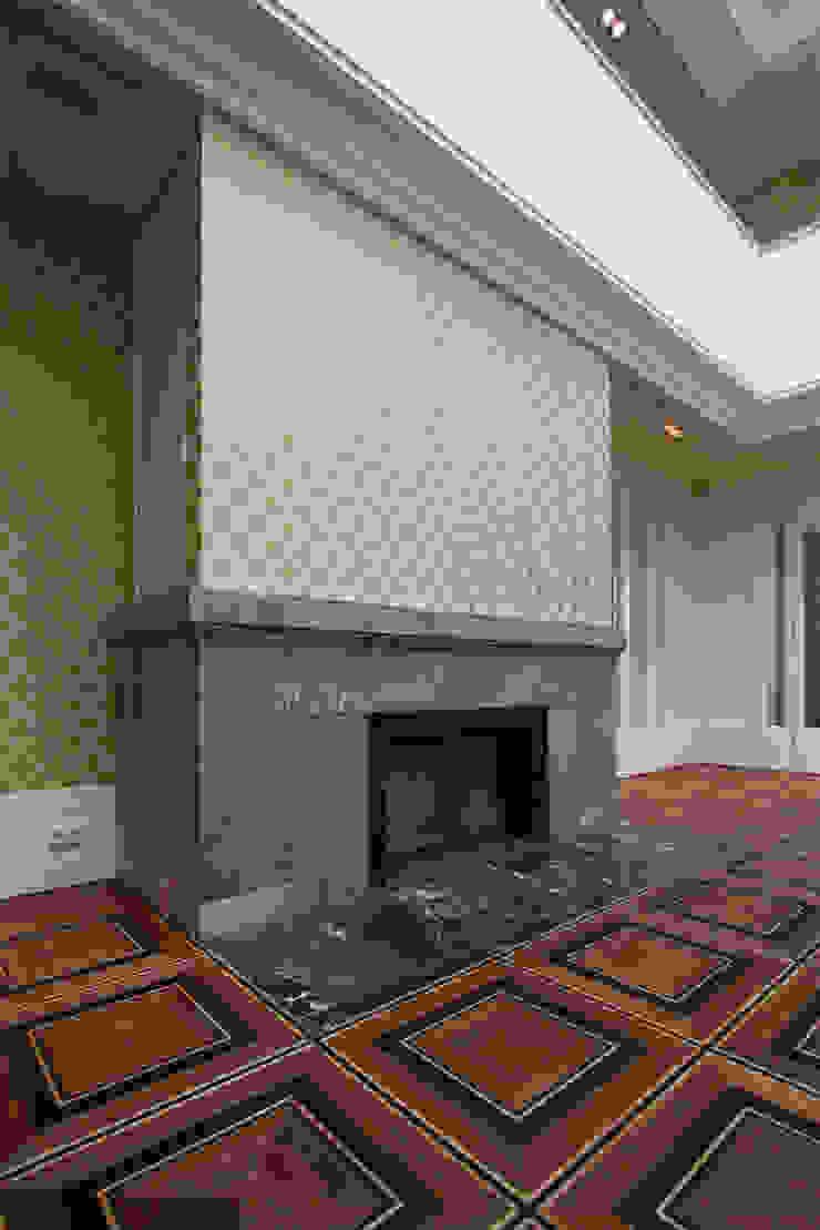 Den Himmel im Haus - Residenz mit zentralem Lichthof Klassische Wohnzimmer von CG VOGEL ARCHITEKTEN Klassisch