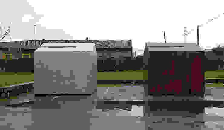 kiosk m.poli Casas de estilo moderno de Brut Deluxe Architecture + Design Moderno