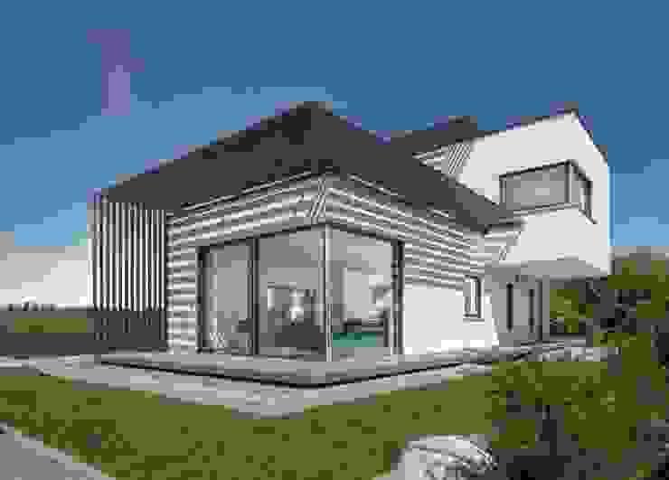 Modern home by LUXHAUS Vertrieb GmbH & Co. KG Modern