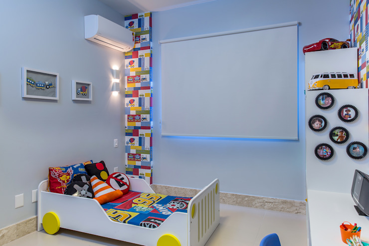 Nursery/kid's room by Milla Holtz Arquitetura