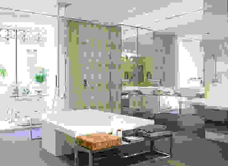 Baño de Espejos para Ramon Soler Baños de estilo clásico de BARASONA Diseño y Comunicacion Clásico