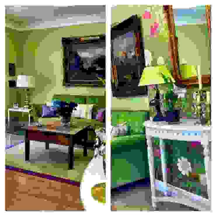 Das Gartenzimmer Klassische Wohnzimmer von Innenarchitektin Claudia Haubrock Klassisch