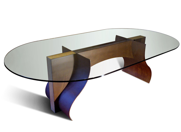 LOIRA - Mesa de comedor ovalada de GONZALO DE SALAS Moderno