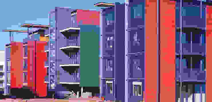 Perspektive Stirnseite Moderne Häuser von A-Z Architekten Modern