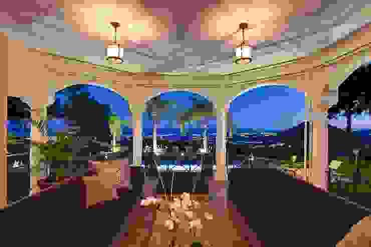 Terraza Balcones y terrazas de estilo ecléctico de Ambience Home Design S.L. Ecléctico