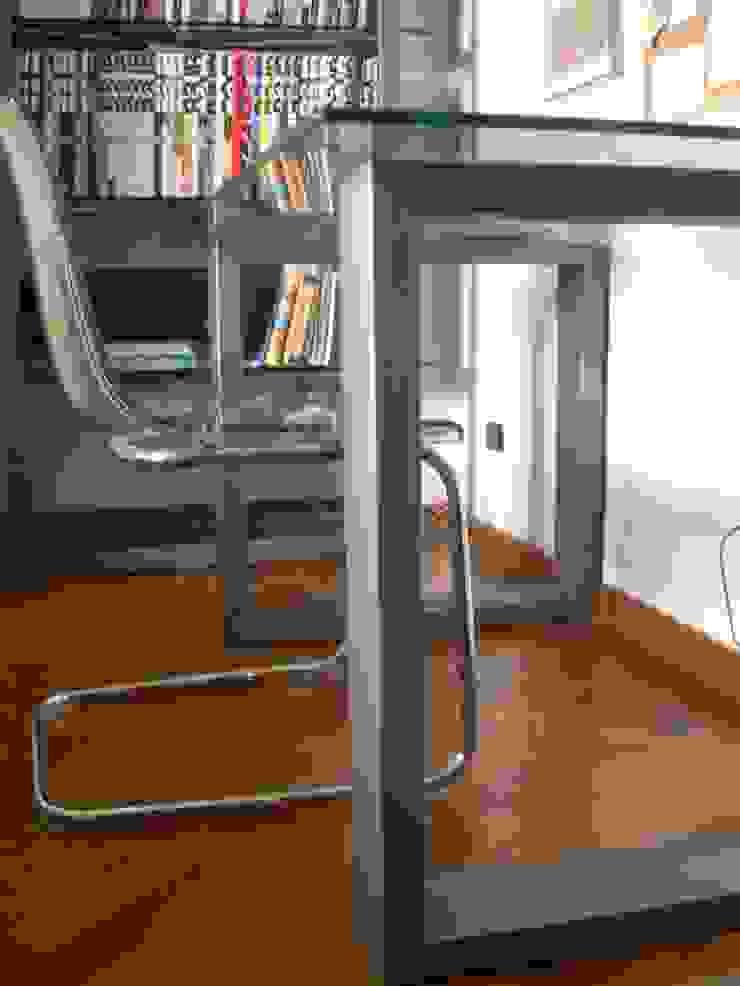 Scrivania e Libreria in ferro e vetro von Studio Pierpaolo ...