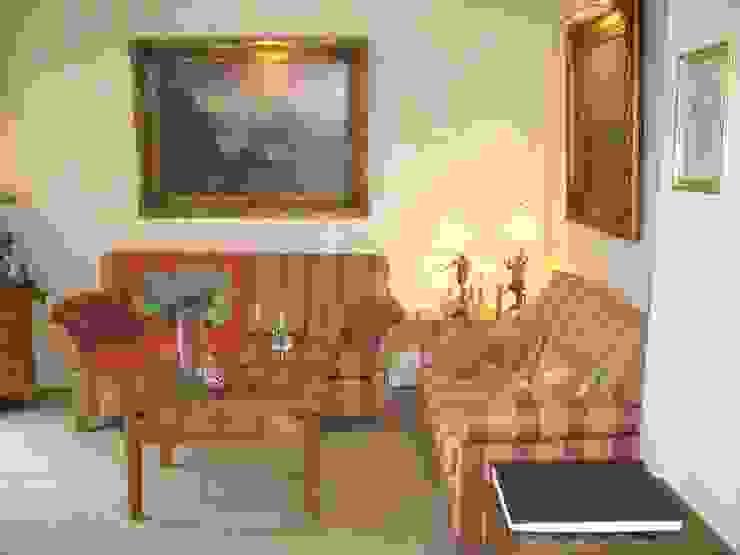 Vorherfoto des Gartenzimmers Klassische Wohnzimmer von Innenarchitektin Claudia Haubrock Klassisch