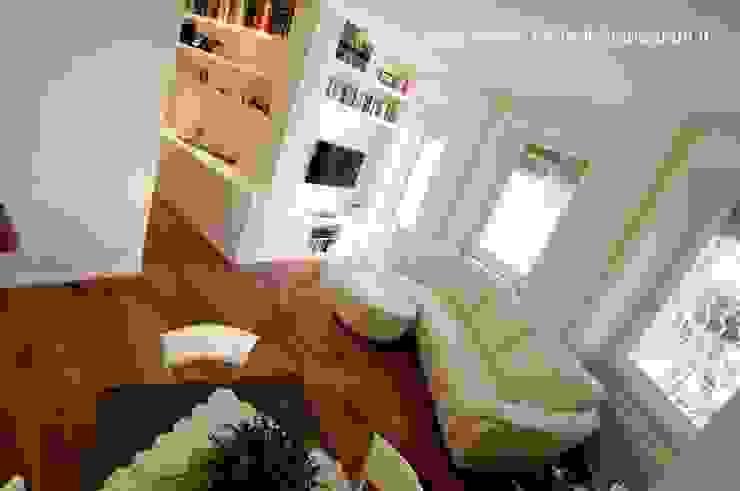 Gianicolo - Rome Soggiorno moderno di Rachele Biancalani Studio Moderno