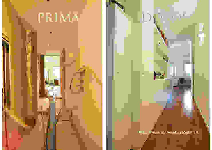 Pasillos y recibidores de estilo  por Rachele Biancalani Studio, Moderno