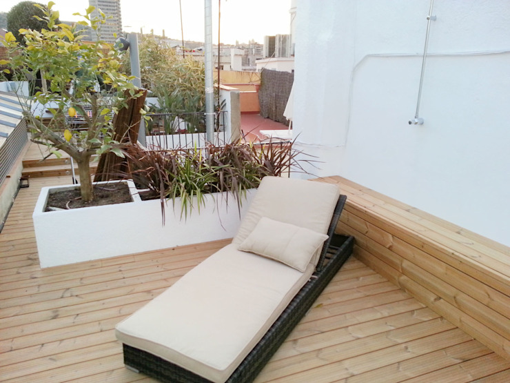 Naturalgreen Jardiners 陽台、門廊與露臺 家具