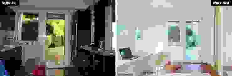 Phòng văn phòng: Thiết kế nội thất · bố trí · Ảnh bởi raumwerte Home Staging