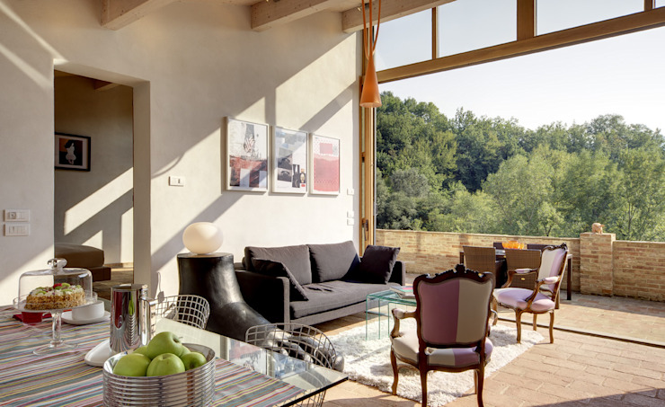 Modern Living Room by Arcostudios Modern